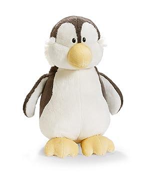 Nici 33174 - Pingüino de peluche, 35 cm, color gris [importado de Alemania