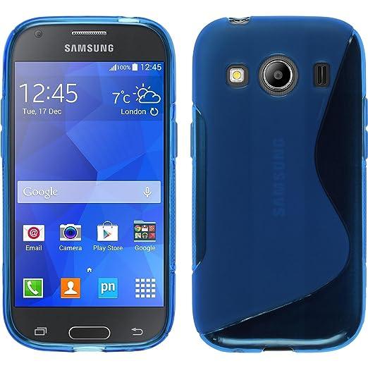8 opinioni per PhoneNatic Custodia Samsung Galaxy Ace 4 Cover blu S-Style Galaxy Ace 4 in