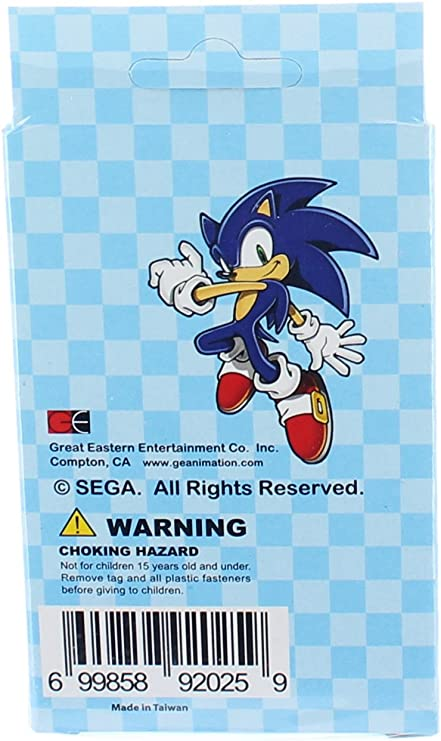 New Ships Next Day GE Great Eastern Official Sonic the Hedgehog Playing Cards
