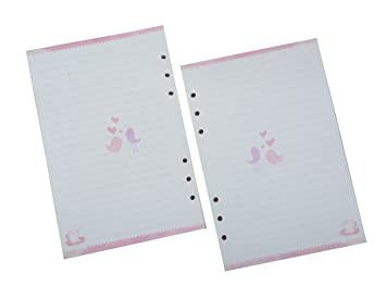 picture about Cute Planner Refills named Funcoo 2 Sets 45 Sheets Planner Filler Paper Refills Inserts