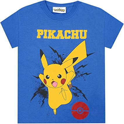 Pokemon t-shirts long sleeve crew neck cotton boys