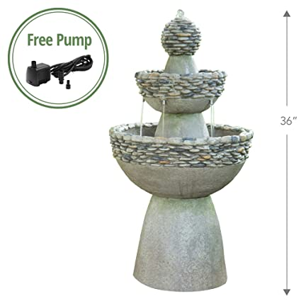 bb9a9ba7604 Amazon.com   Peaktop - Outdoor Water Fountain