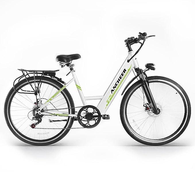 Lonlier Bicicleta de Montaña Eléctrica Plegable 36v MTB 26 Power 250Wcon Pantalla del Manillar
