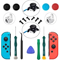 JoyCon Joystick, Nintendo Switch Replacement Joystick, Joy Con Analog Stick Replacement, Switch Repair Kit Nintendo Switch Controller Repair Kit, Include Screwdrivers, Thumbstick Caps and Tweezers