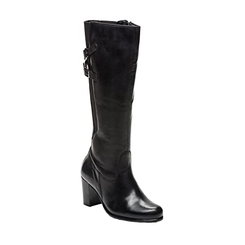 b4d4e4c0 Zerimar Botas Altas Mujer de Piel |Botas de Piel Natural Premium | Botas  Altas Mujer