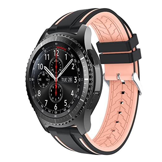 Amazon.com: HOUSINGLOVES Watch Bands Soft Silicone Watch ...