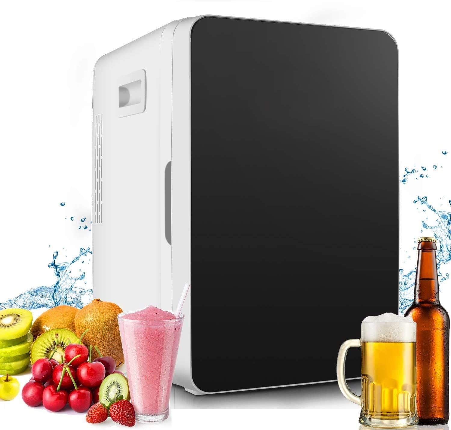 Mini Refrigerator for Bedroom Compact Fridge for Ooffice Compact Freezer Single Door US STOCK Mini Fridge 20-lifter Large Capacity