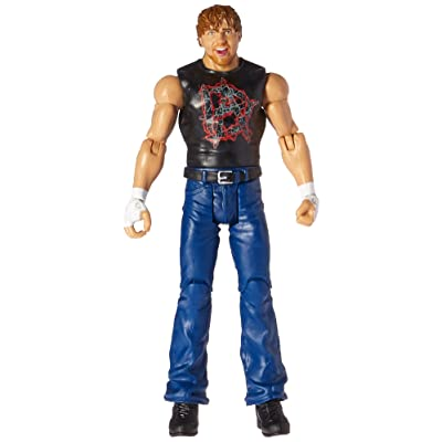WWE Basic Dean Ambrose Figure: Toys & Games