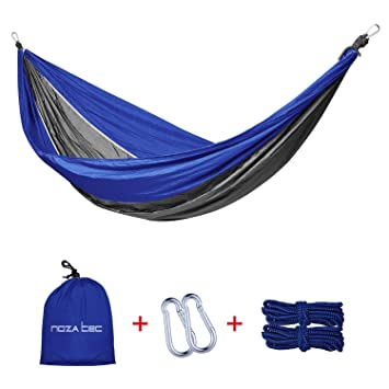 double parachute hammock    oza tec portable parachute nylon fabric for travel camping outdoor garden beach double parachute hammock    oza tec portable parachute nylon      rh   amazon co uk