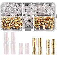 Rantecks 120PCS 3.5mm Bullet Connectors Kit Gold Bullet
