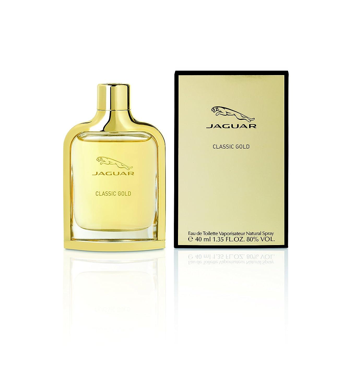 Jaguar Classic Gold Eau de Toilette 100 ml Eau de Toilette für Männer, holzig-aromatisch Jaguar Fragrances 9487_42039