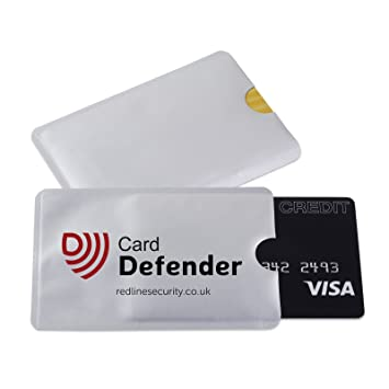 5 x Card Defenders - High Quality RFID Blocking Sleeves for Protecting your Contactless  Card -