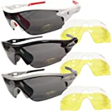 VeloChampion Warp Sunglasses - Red / Smoked by VeloChampion