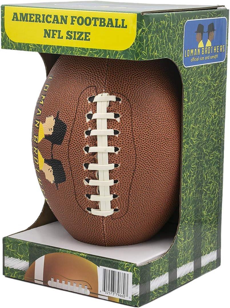 Loman Brothers - Balón de fútbol americano para niños y jugadores ...