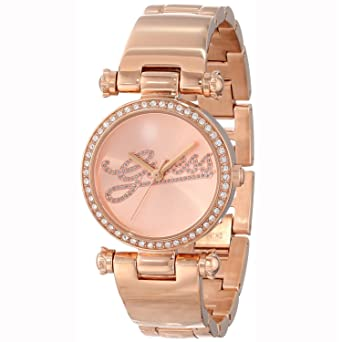 ORIGINAL GUESS Uhren CLASSIC Damen Uhrzeit w0287l3: Amazon