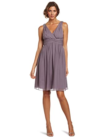 Donna Morgan Womens Jessie Dress, Grey Ridge, 8: Amazon.es: Ropa ...