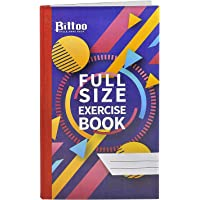Full Size Hard Cover Exercise Book (336 Pages) [Pack of 5]