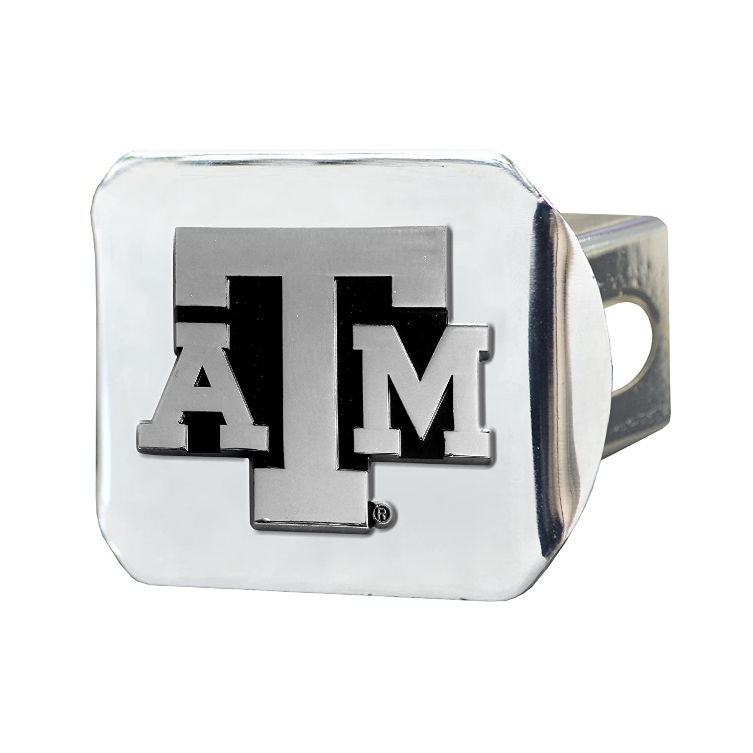 FANMATS 15103 NCAA Texas A&M University Aggies Chrome Hitch Cover