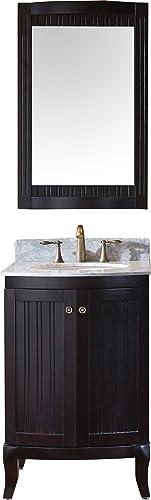 Virtu USA Khaleesi 24 inch Single Sink Bathroom Vanity Set