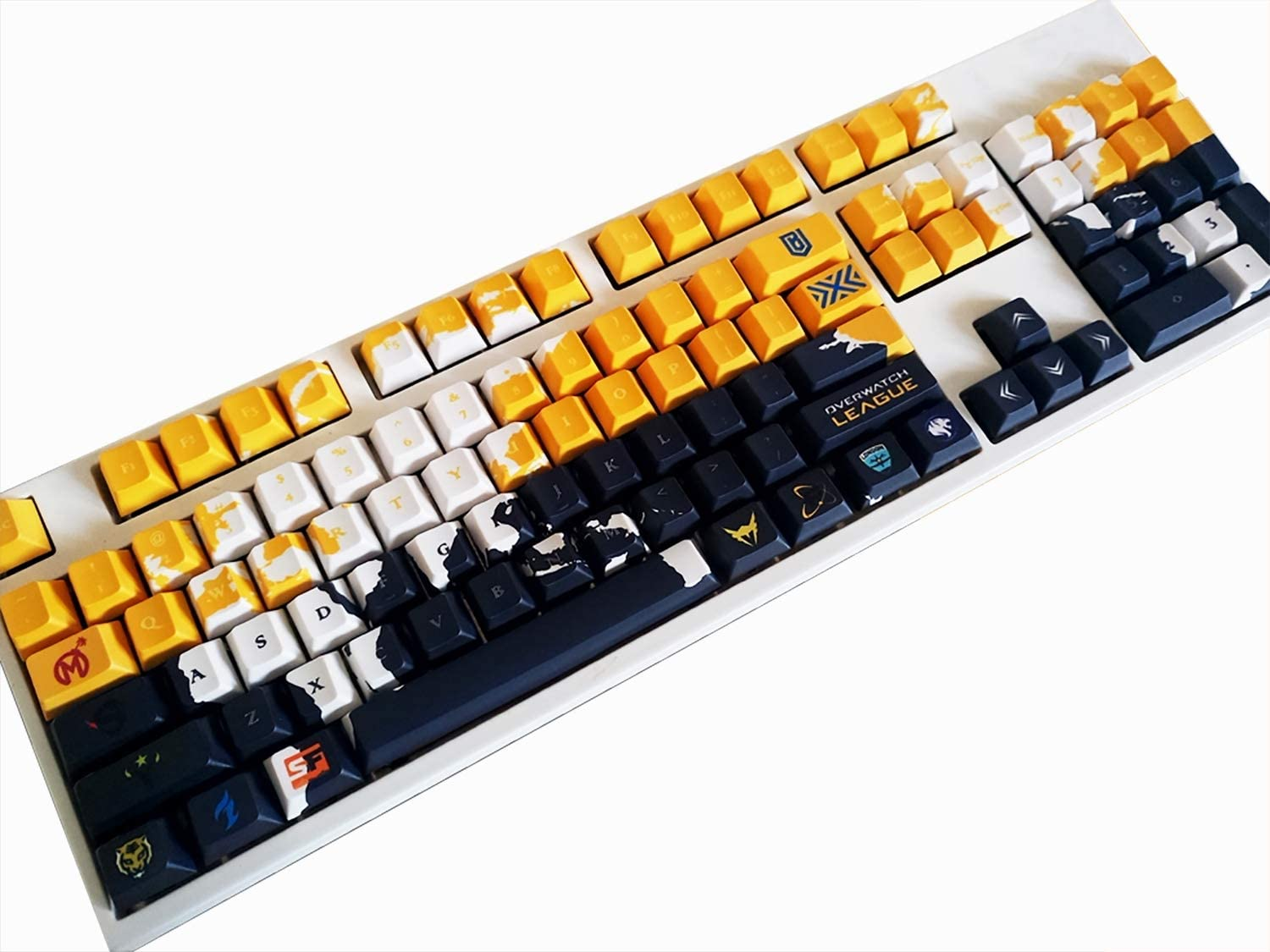 PBT Material OEM Height ,108 SSSLG Keycaps Suitable for Mechanical Keyboard MX Switch 87//104//108 Key Caps