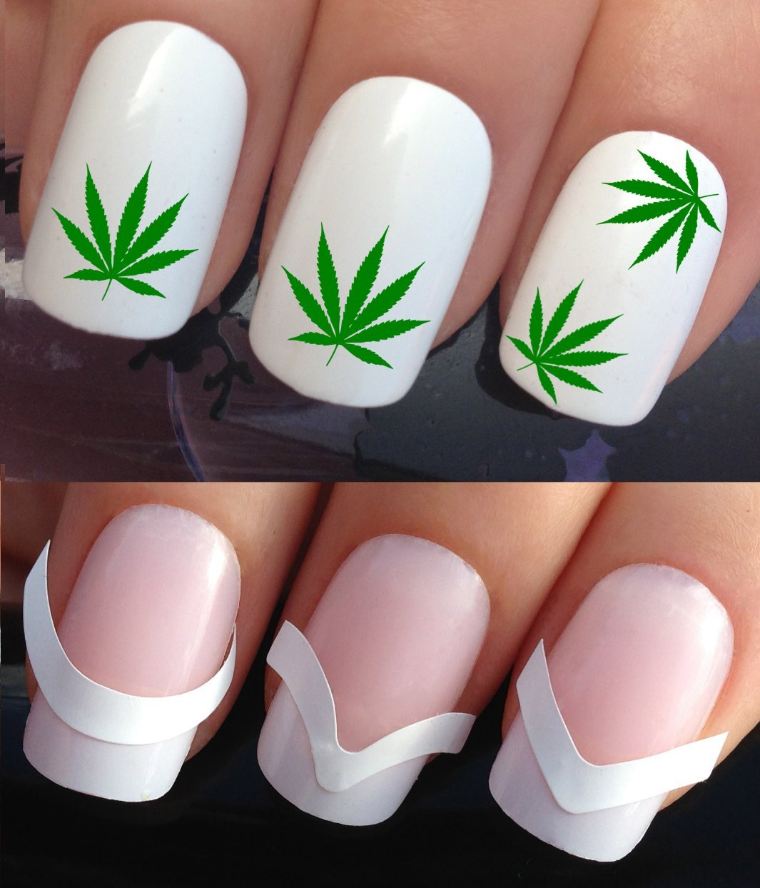 Amazon.com: WATER NAIL DECALS TRANSFERS STICKERS TATTOO ART SET #362 ...