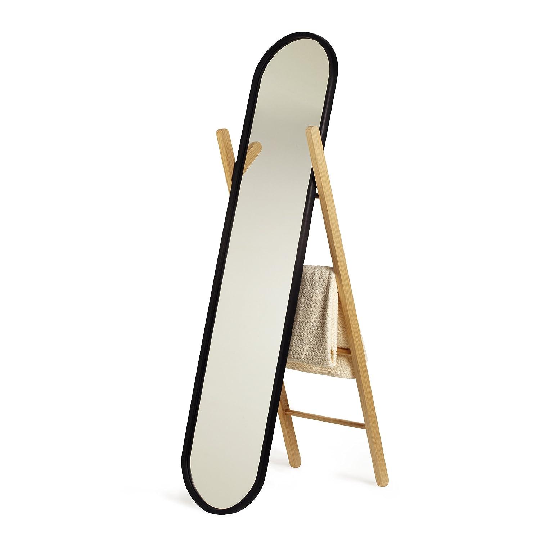 Umbra 358375-045 Hub Miroir à Poser Noir-Natural 118 -2 x 66 -09 x 38 -53 cm