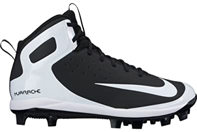 350c046f7508 Image Unavailable. Image not available for. Color  NIKE Men s Alpha Huarache  Pro Mid MCS Baseball Cleat ...