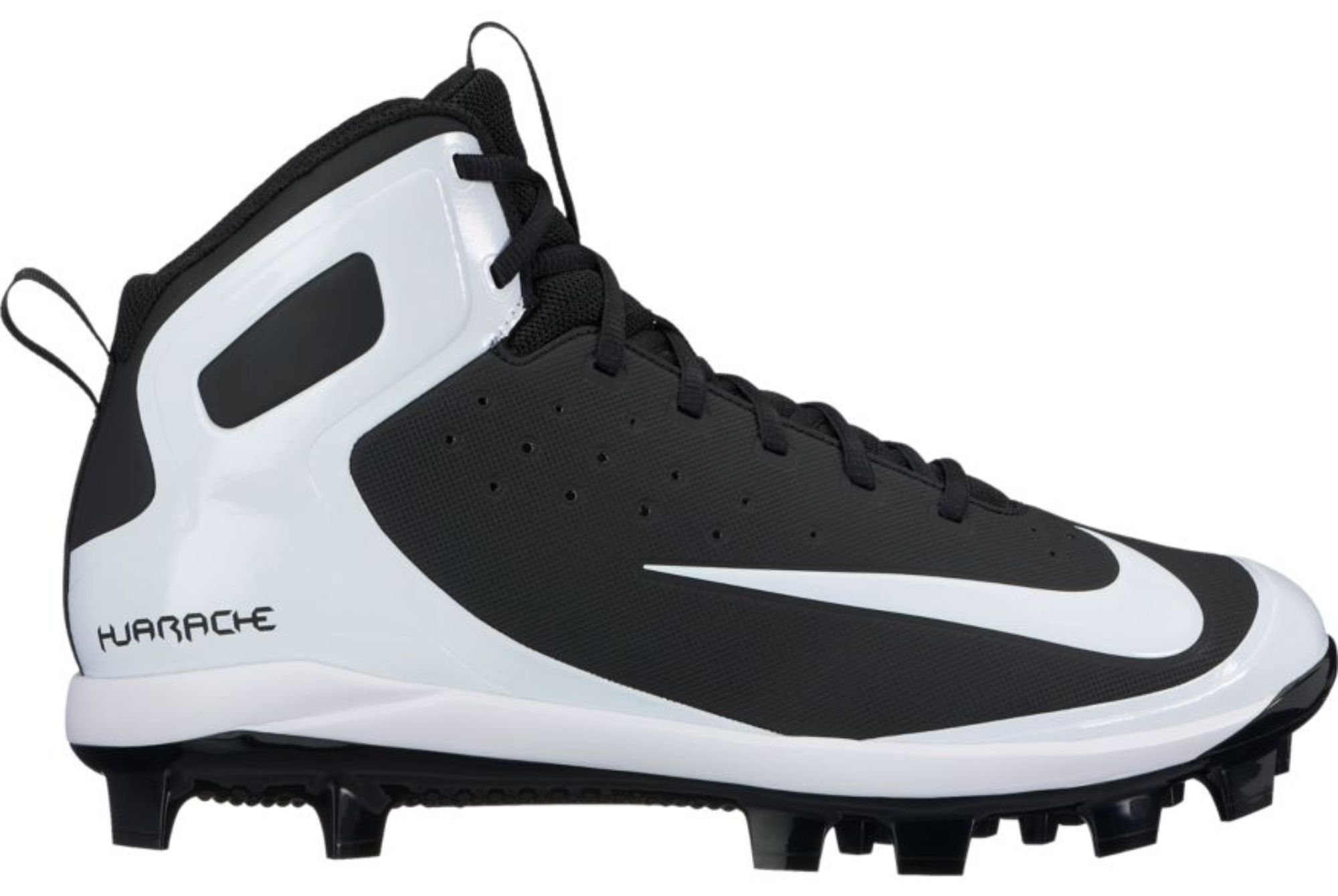 e9a124ce08d2 ... Air Huarache 2K Low Metal Baseball Cleats White 807129-101 New.  46.99. Nike  Men s Alpha Huarache Pro Mid Baseball Cleats(Black White