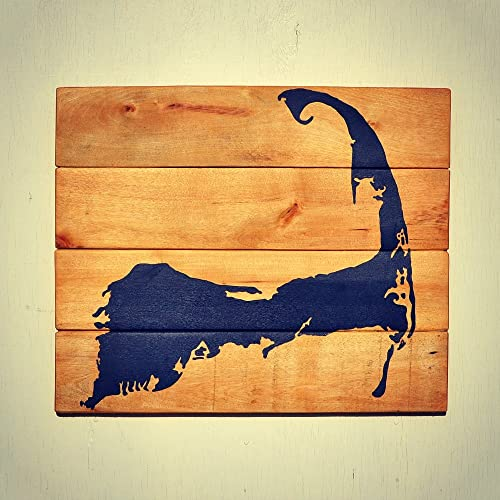 Amazon.com: Cape Cod Sign | Rustic Reclaimed Wood Wall Decor - Cape ...
