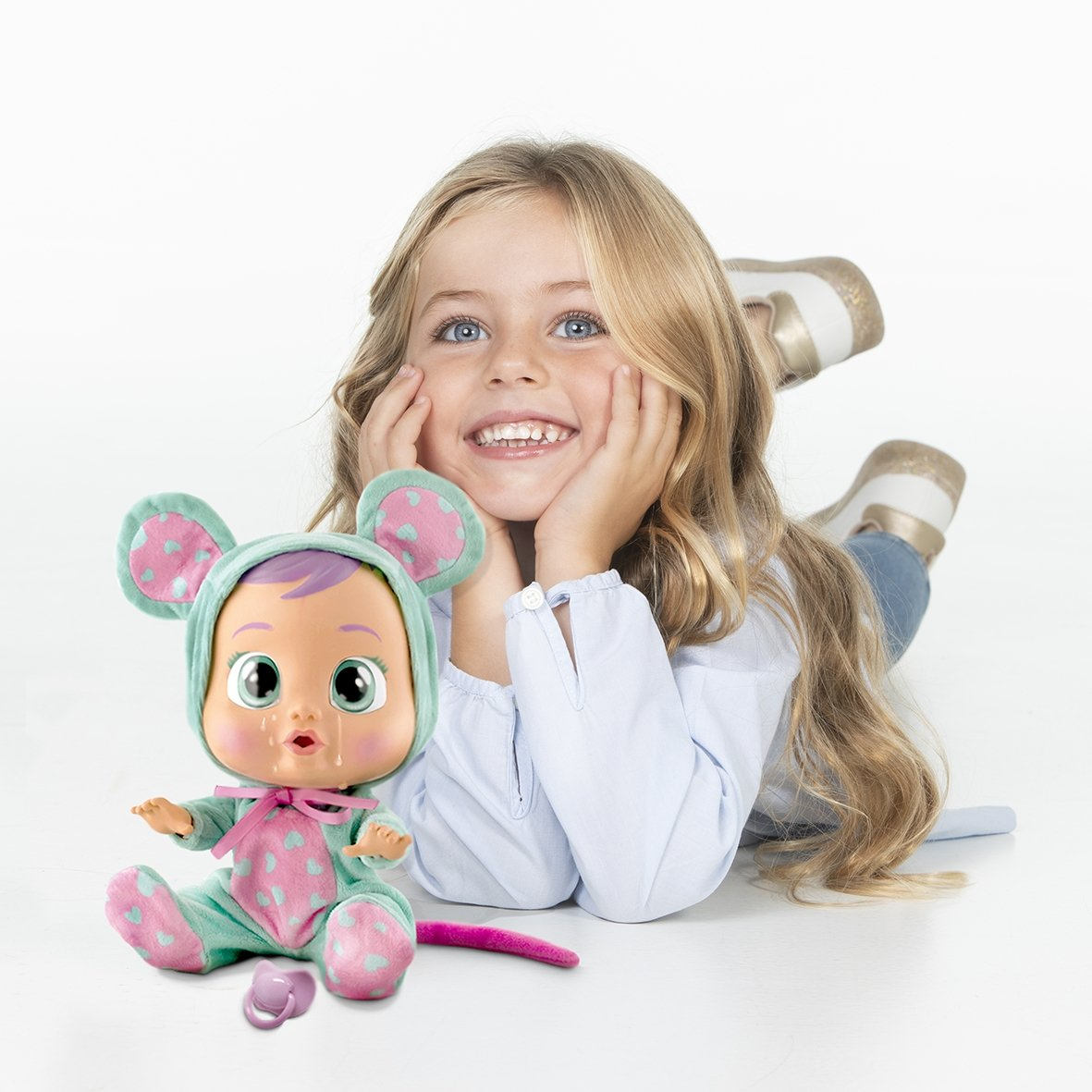 Cry Babies Girls Lala Baby Doll by Cry Babies (Image #2)