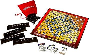 Mattel R3076-0 Scrabble Trickster - Juego de Cartas: Amazon.es: Juguetes y juegos