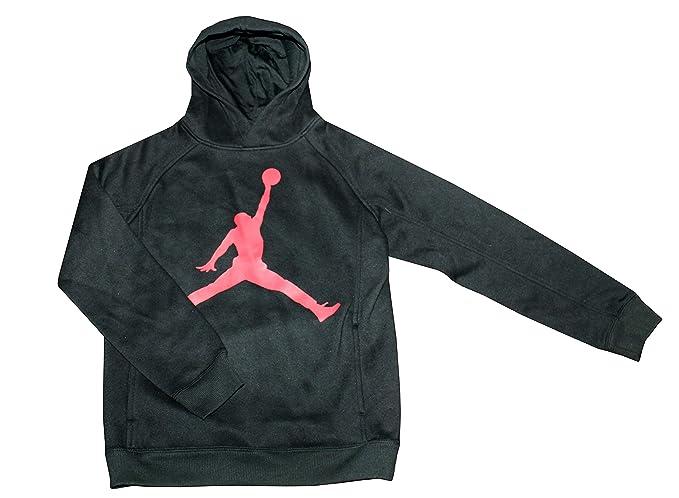 8873633210d68d Amazon.com  Jordan Boy s Athletic Hoodie Pullover (M 10 12)  Clothing