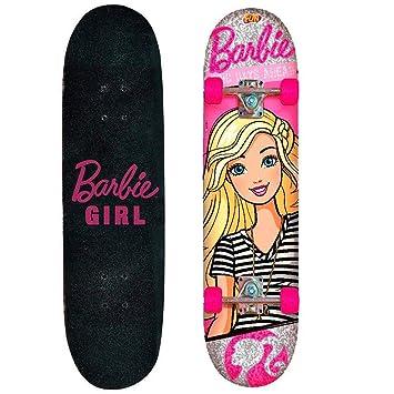 Skate Barbie Com Acessórios Rosa Girl 76191 - Fun  Amazon.com.br  Casa e7ac17b3cf8