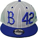 32ce5fa9f8d7d New Era Brooklyn Dodgers 9FIFTY MLB Cooperstown Jackie Robinson Hat - Gray