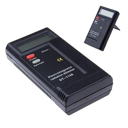 Sunsbell - Detector de radiación electromagnética profesional LCD digital EMF medidor dosimetro medidor radiación herramienta de