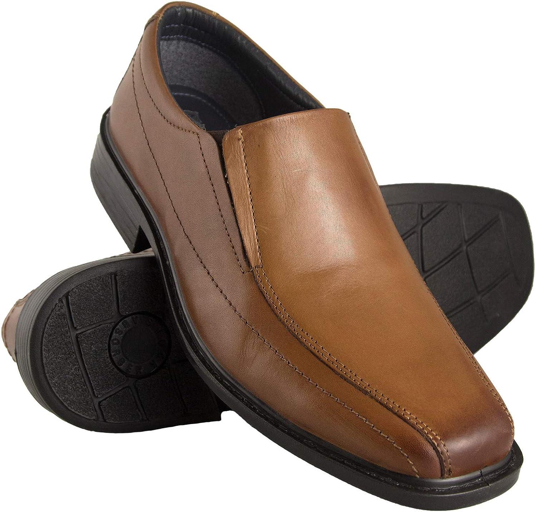 Zerimar Zapatos Hombre Vestir | Zapatos Clasicos Hombre Cuero | Calzado Elegante Cuero | Zapatos de Negocios