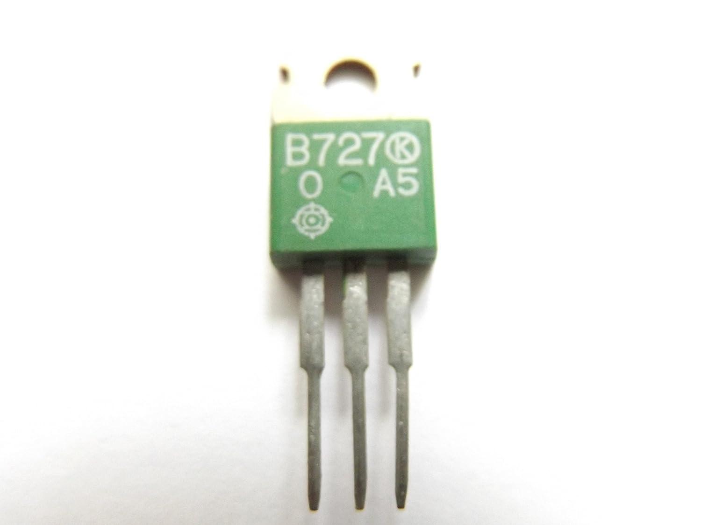 2SB727 Marked B727 Hitachi Trans Darlington PNP 120V 6A 3-Pin TO-220AB