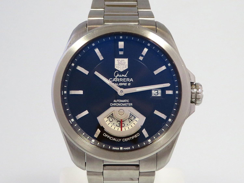 タグホイヤー TAG HEUER グランドカレラ WAV511C ブラック文字盤 メンズ 腕時計 【中古】 B077RWBJDB