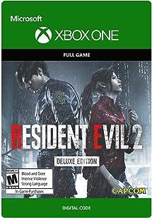 Amazon com: Resident Evil 2 Deluxe Edition - Xbox One [Digital Code