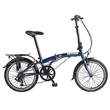 Dahon Faltrad SUV D6 6 Gang Blau 20 Zoll Herren Klapp Fahrrad Faltrahmen Kettenschaltung, 975070