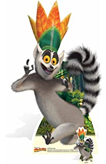 beb2e2560d5 Star Cutouts SC970 King Julien Cartoon Animated Ring Tailed Lemur with Eyes  Cut-out