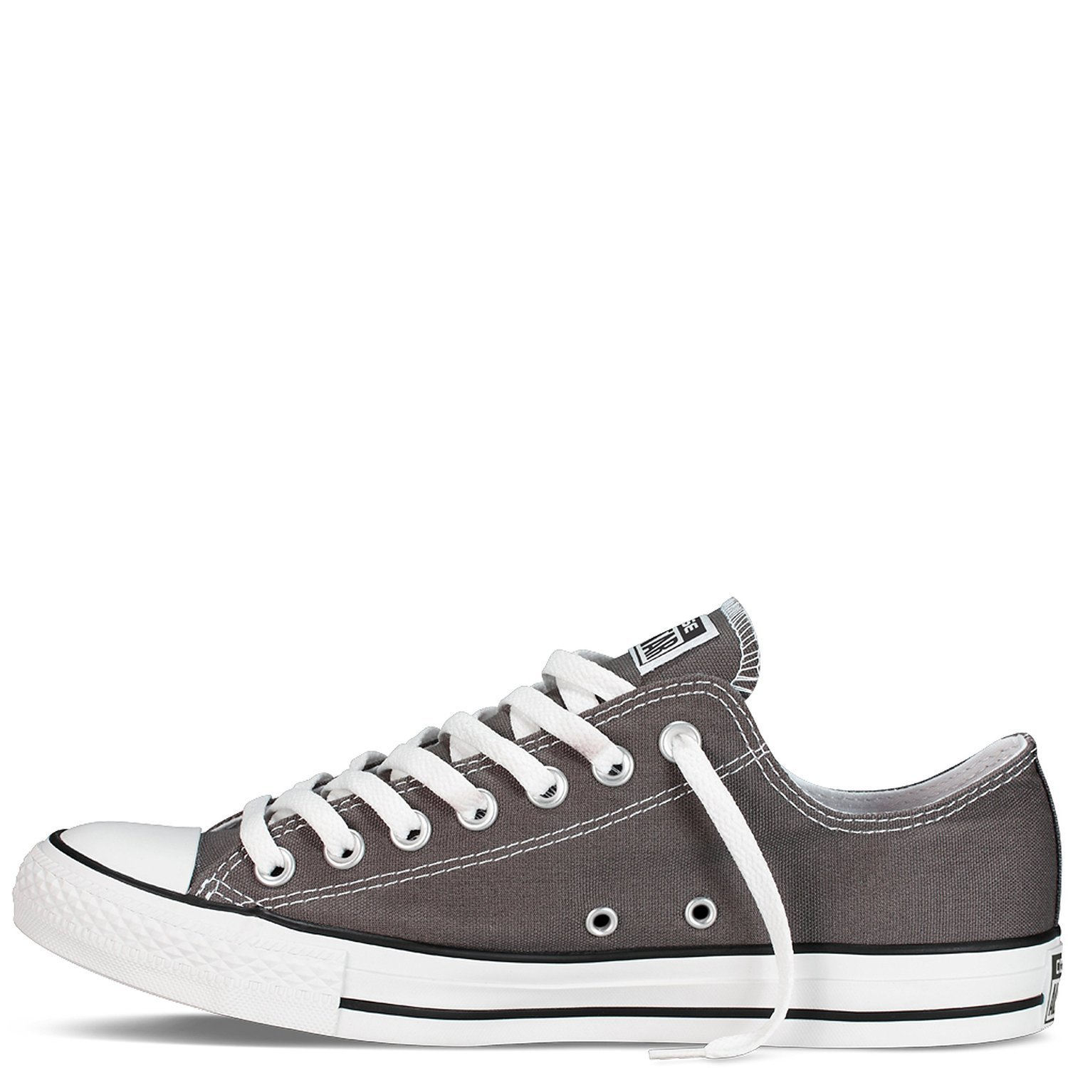 Converse Chuck Taylor All Star Slip Sneaker Gray 1X228, Size 4 Mens, 6 Womens by Converse (Image #2)