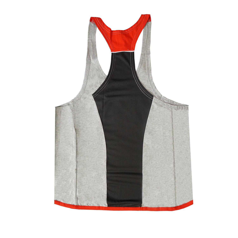 29a87a0f805548 Vergiss Men s Fitness Gym Muscle Cut Stringer Bodybuilding Workout  Sleeveless Tank Top Shirts