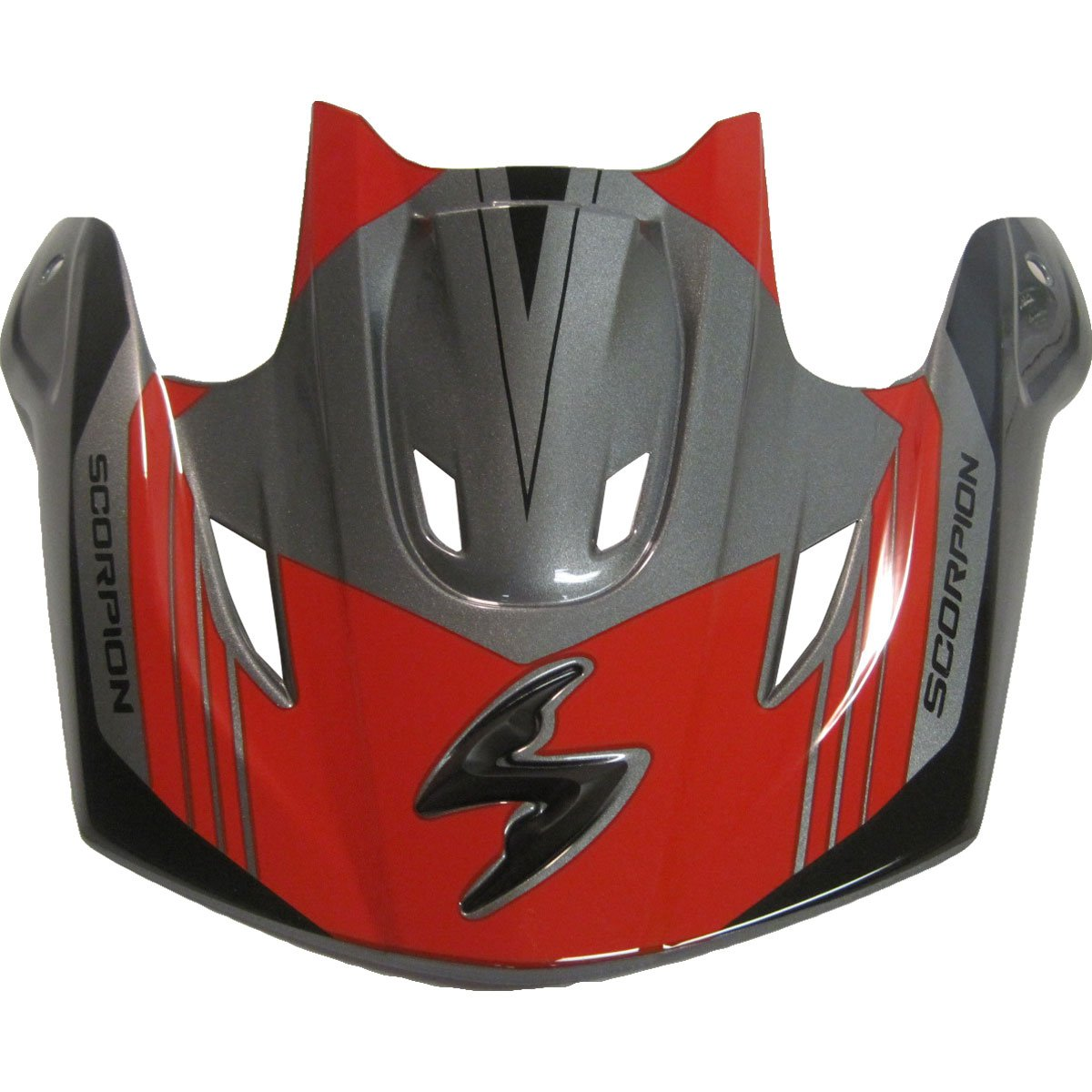 e438e082 Amazon.com: Scorpion Peak Visor Vx-R70 Motorcycle Helmet Accessories -  Barstow Red/One Size: Automotive