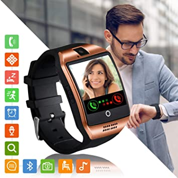 Smartwatch, Reloj Iinteligente Mujer Hombre Niña con Ranura para ...