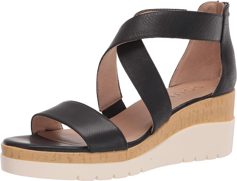 SOUL Naturalizer Women's Goodtimes Wedge Sandal