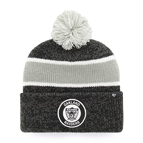 Image Unavailable. Image not available for. Color   47 Oakland Raiders Beanie  Hat Noreaster Vintage Knit 548d85c47cd2