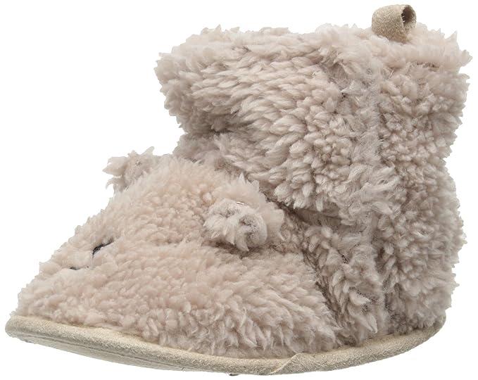 e58817772 Carter s Baby-Boys Newborn Bear Fur Slippers