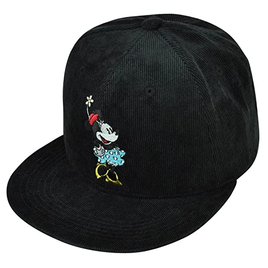 Image Unavailable. Image not available for. Color  Disney Retro Minnie Mouse  Character TV Cartoon Ladies Corduroy Snapback Hat Cap a0ea01f160b8