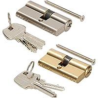 KOTARBAU Sluitcilinder 25/25 messing cilinderslot profielcilinder deurcilinder slot slot slot slot dubbele cilinder…